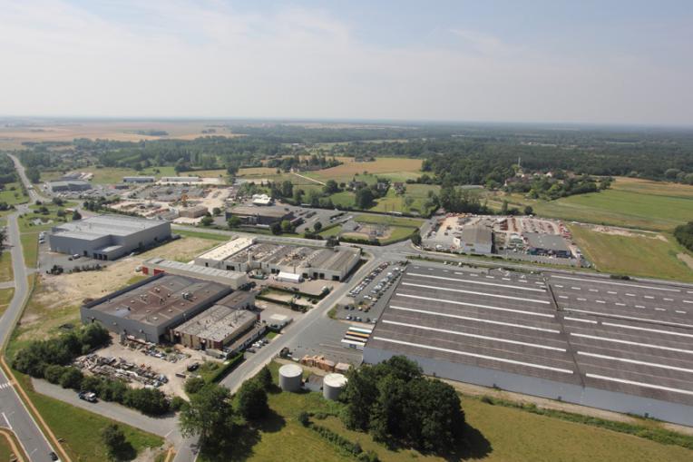 Zone industrielle buzan ais zones d 39 activit s for Zone commune